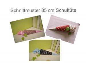 85 cm Schultüte Schnittmuster - Ebook - Nähanleitung