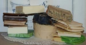 600 g Seifenabschnitte - Bruchseife