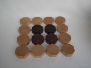 Holz-Topfuntersetzer, in Handarbeit hergestellt - Handarbeit kaufen