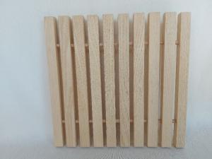 großer Holz-Topfuntersetzer, in Handarbeit hergestellt praktisch und stilvoll kaufen  - Handarbeit kaufen