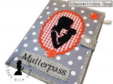 Mutterpass Mama mit Kind