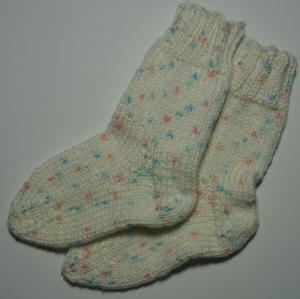 Babysocken handgestrickt  Gr. 19