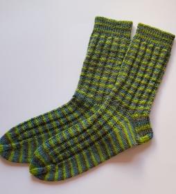 Socken handgestrickt Gr. 43