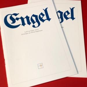 ENGEL-GEDICHTE vom Spanischen Nationaldichter RAFAEL ALBERTI mit Zeichnungen von Michael Kupfermann