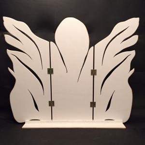 Paravent-Engel für die Jahreszeitenecke oder zum Aufstellen als Gardinenersatz auf der Fensterbank