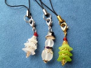 Handgefertigte Geschenkanhänger  im 3er Set   *Weihnachten*     - Handarbeit kaufen