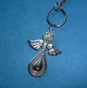 *Schlüsselanhänger* XXL Schutzengel -  Geschenk für Frauen und Mädchen - - Handarbeit kaufen
