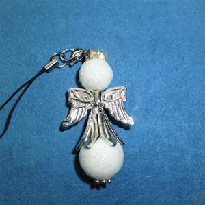Weihnachtlicher Geschenkanhänger - XXL Glitzerengel -  - Handarbeit kaufen