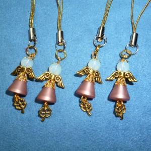 Handgefertigte Mini-Engel als Geschenkanhänger im 4er Set  (Kopie id: 100258048) - Handarbeit kaufen