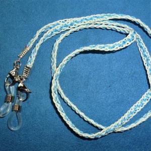 Handgeflochtenes Brillen-/Masken-/Airpodband  aus Schmuckkordel - Geschenk für Frauen und Männer -    - Handarbeit kaufen
