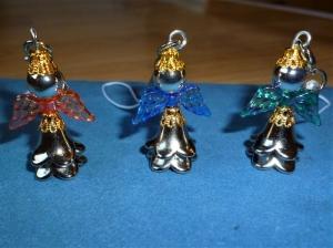 3  Stück Schutzengel, Glücksbringer, Gastgeschenk/Mitgebsel, Geschenkanhänger - Handarbeit kaufen