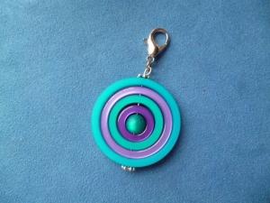 Handgefertigter Anhänger aus Polaris Kreativ Elementen *Kreis* - Geschenk für alle -  - Handarbeit kaufen