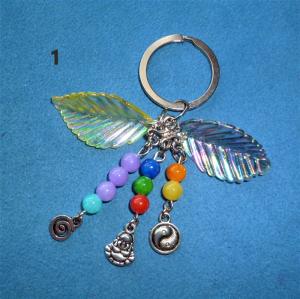 Fantasievolle Schlüsselanhänger - bunt -  zum verschenken für viele Gelegenheiten oder zum selberschenken - Handarbeit kaufen
