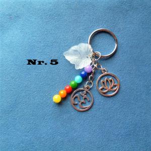 Fantasievolle Schlüsselanhänger - bunt -  zum verschenken für viele Gelegenheiten oder zum selberschenken (Kopie id: 100277985) - Handarbeit kaufen