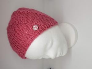 Strickmütze für Mädchen für die kalten Tage