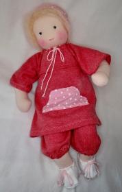 Babypuppe Junge ca. 40 cm Versand kostenlos in Handarbeit nachhaltig aus Naturmaterial hergestellt   - Handarbeit kaufen