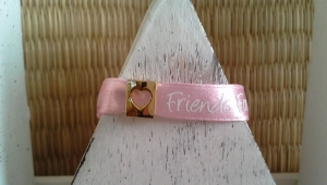 Armband ♥ Friends forever ♥, Freundschaftsarmband ☀ - Handarbeit kaufen