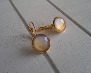 Ohrringe ♥ Glitter ♥,  ☀ verschiedene Motive ☀ - Handarbeit kaufen