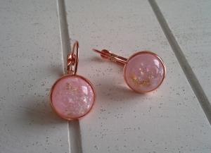 Ohrringe ♥ rose ♥,  ☀ verschiedene Motive ☀   - Handarbeit kaufen