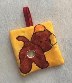 Hundekotbeutel-Tasche Gelb