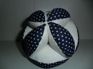 Greifball  für Babys mit Glöckchenmit ,Motorikball mit Personalisierung