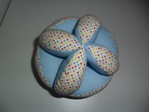Greifball mit Glöckchen,Motorikspielzeug,mit Personalisierung ,Farbauswahl