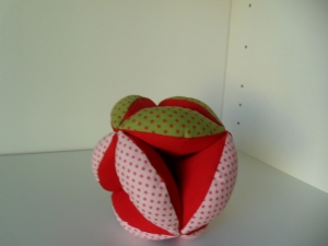 Greifball mit Glöckchen,Motorikspielzeug,mit Personalisierung (Kopie id: 100141489)