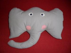 Kuschelkissen Elefant ,gratis Personalisierung