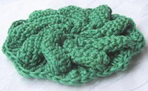 Blüte ☀ handgehäkelt aus Baumwolle bei freier Farbwahl bestellen