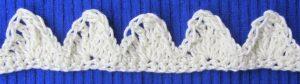 Zierborte ♡ handgehäkelt aus Baumwolle in Ihrer Wunschfarbe bestellen