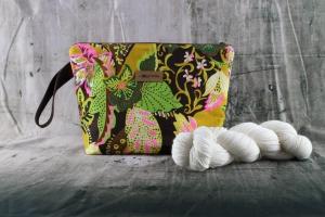 Projekttasche African Flower Handarbeitstasche Größe S