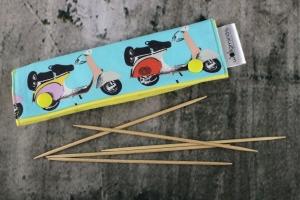 Needle Cozy Vespa Nadelgarage für 15 cm Nadelspielhalter Nadelspieltasche DPN Holder