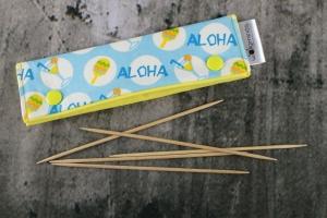Needle Cozy Aloha Nadelgarage für 15 cm Nadelspielhalter Nadelspieltasche DPN Holder