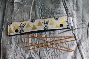 Needle Cozy Gemsen Nadelgarage für 20 cm Nadelspielhalter Nadelspieltasche DPN Holder