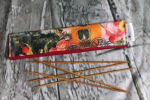 Needle Cozy Heimatliebe Nadelgarage für 20 cm Nadelspielhalter Nadelspieltasche DPN Holder
