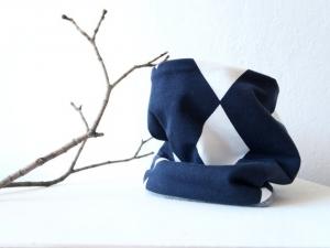 Winter Loop/Schlauchschal für Kleinkinder: unisex aus Baumwoll-Jersey  - Handarbeit kaufen
