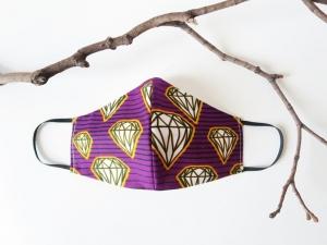Wiederverwendbare Baumwollmaske - Gesichtsmaske