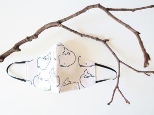 Wiederverwendbare Baumwollmaske - Gesichtsmaske ( Mundmaske / Behelfsmaske)