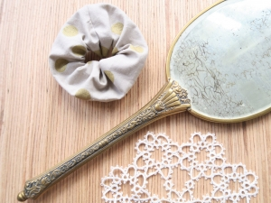 Scrunchies aus Baumwolle • Haargummi • Zopfgummi - Handarbeit kaufen