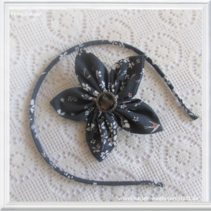 Haarreifen & Haarblüte (mit Clip) Schwalbe im Set