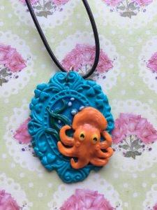 Cameo kleiner Tintenfisch Version 2