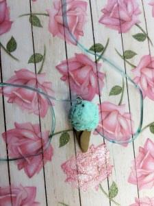 Peppermint Icecream Necklace