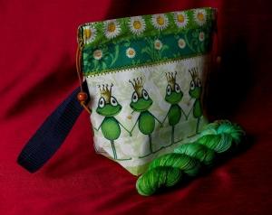 Wolle wie im Märchen + Projekttasche
