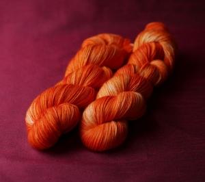 Sockenwolle HighTwist 4-fach, Orangetöne