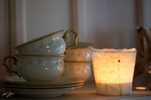 1 Stück Windlichte aus Filz ,Kerze, Laterne, Teelicht, Beleuchtung, Kerzenständer, Filzlicht, filzeit