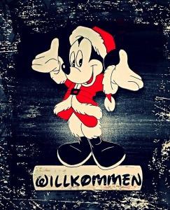 Türschild Mickey Mouse