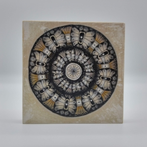 ZIA -Mandala- auf Holz