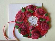 Hochzeitskarte mit Rosen Nr.1222