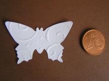 30 gestanzte Schmetterlinge in Wunschfarbe