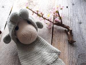 Lotte das Schaf - Schmusetuch für die Kleinsten